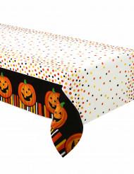 Tovaglia plastica Zucca sorridente Halloween