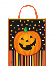 Busta porta caramelle Zucca di Halloween