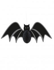 Pipistrello nero appeso
