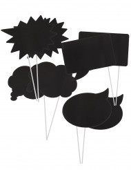 Kit photobooth fumetti personalizzabili