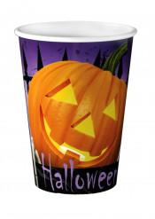 8 bicchieri in cartone Halloween 250 ml