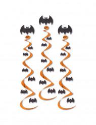 3 sospensioni pipistrelli Halloween
