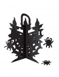 Centro tavola candelabro con ragni