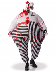 Costume gonfiabile da Clown degli inferi Halloween