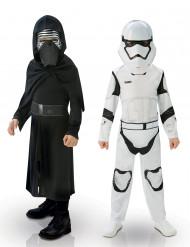 Cofanetto 2 costumi Star Wars VII™ per bambino: Kylo Ren e Storm Trooper