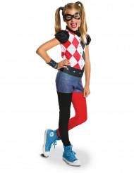 Costume classico da Harley Quinn™ bambina - DC Super Hero Girls™