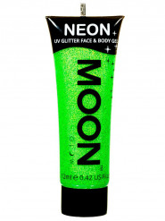 Gel per viso e corpo verde con paillettes 12 ml UV Moonglow ©