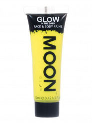 Gel per viso e corpo giallo fosforescente 12 ml Moonglow ©