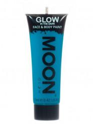 Gel per viso e corpo blu forforescente 12 ml  Moonglow ©