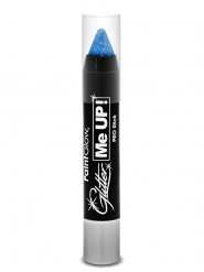 Image of Matita trucco blu glitter UV 3 g