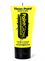 Gel per viso e corpo giallo fluo UV 50 ml