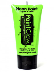 Gel per viso e corpo verde fluo UV 50 ml