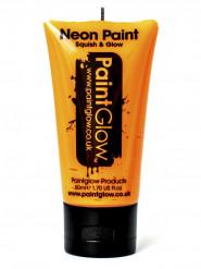 Gel per viso e corpo arancione fluo UV 50 ml