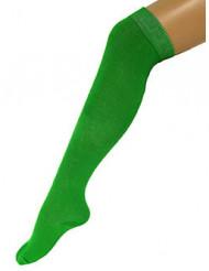 Calze verdi da donna lunghe 53 cm