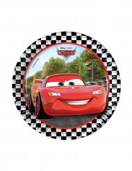 8 piattini di carta Cars Formula™