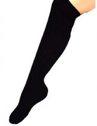 Calze nere  lunghe da adulto