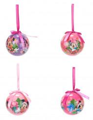 4 Palline di Natale Minnie™ 7.5 cm