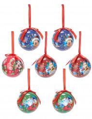 7 Palline di Natale Topolino™ 7.5 cm