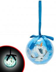 Palla di Natale luminosa Olaf Frozen™ 7.5 cm