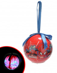 Palla luminosa di Natale Spiderman ™ 7.5 cm