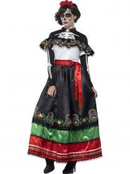 Costume messicano donna Dia de los Muertos