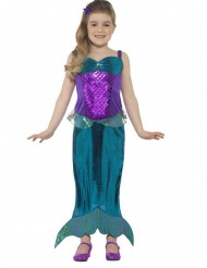 Costume sirena magica bambina