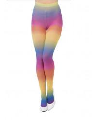 Collant opaci arcobaleno donna