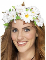 Corona fiori margherita donna