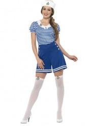 Costume marinaio blu Donna