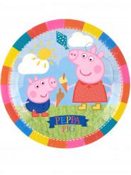 8 piatti di carta Peppa Pig™