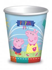 Confezione 8 bicchieri Peppa Pig™ 260 ml