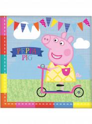 16 tovaglioli di carta Peppa Pig ™
