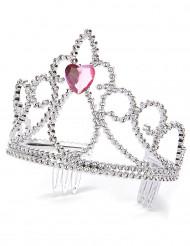 Diadema principessa cuore adulto e bambino