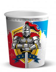 8 Bicchieri usa e getta Cavalieri Medievali