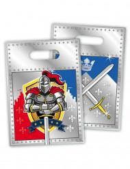 8 Sacchetti per caramelle Cavaliere medievale