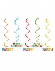 5 sospensioni happy Birthday