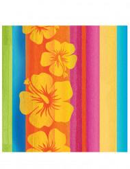16 tovaglioli di carta Hawaii 33 x 33 cm
