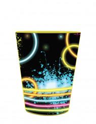 Bicchiere in plastica rigida Party Fluo