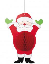 Decorazione da appendere Babbo Natale in carta 35,5 cm