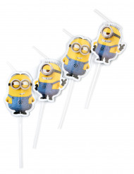 6 cannucce Lovely Minions™