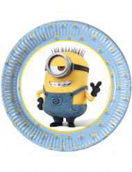 8 piattini di cartone lovely Minions™