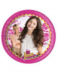 8 piatti di cartone Soy Luna™ 23 cm