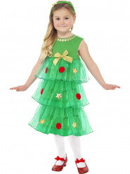 Costume pino natalizio bambina
