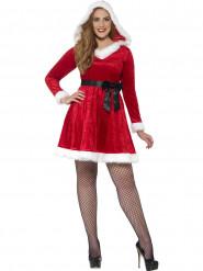 Costume da Mamma Natale con fiocco nero