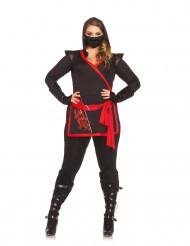 Costume ninja assassino donna