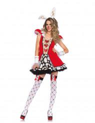 Costume da bianconiglia delle meraviglie per donna