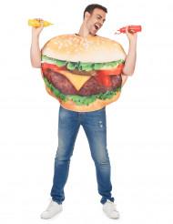 Costume da hamburger adulto