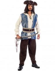 Costume deluxe da pirata uomo