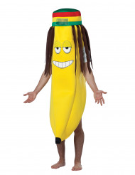Costume banana rasta adulto