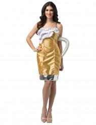 Costume pinta di birra donna